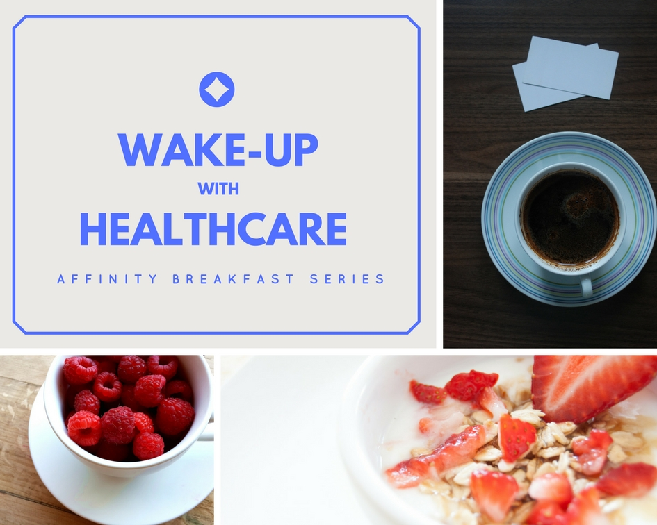 Wake-Up with Healthcare Banner